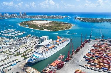 Port of Palm Beach Aerial