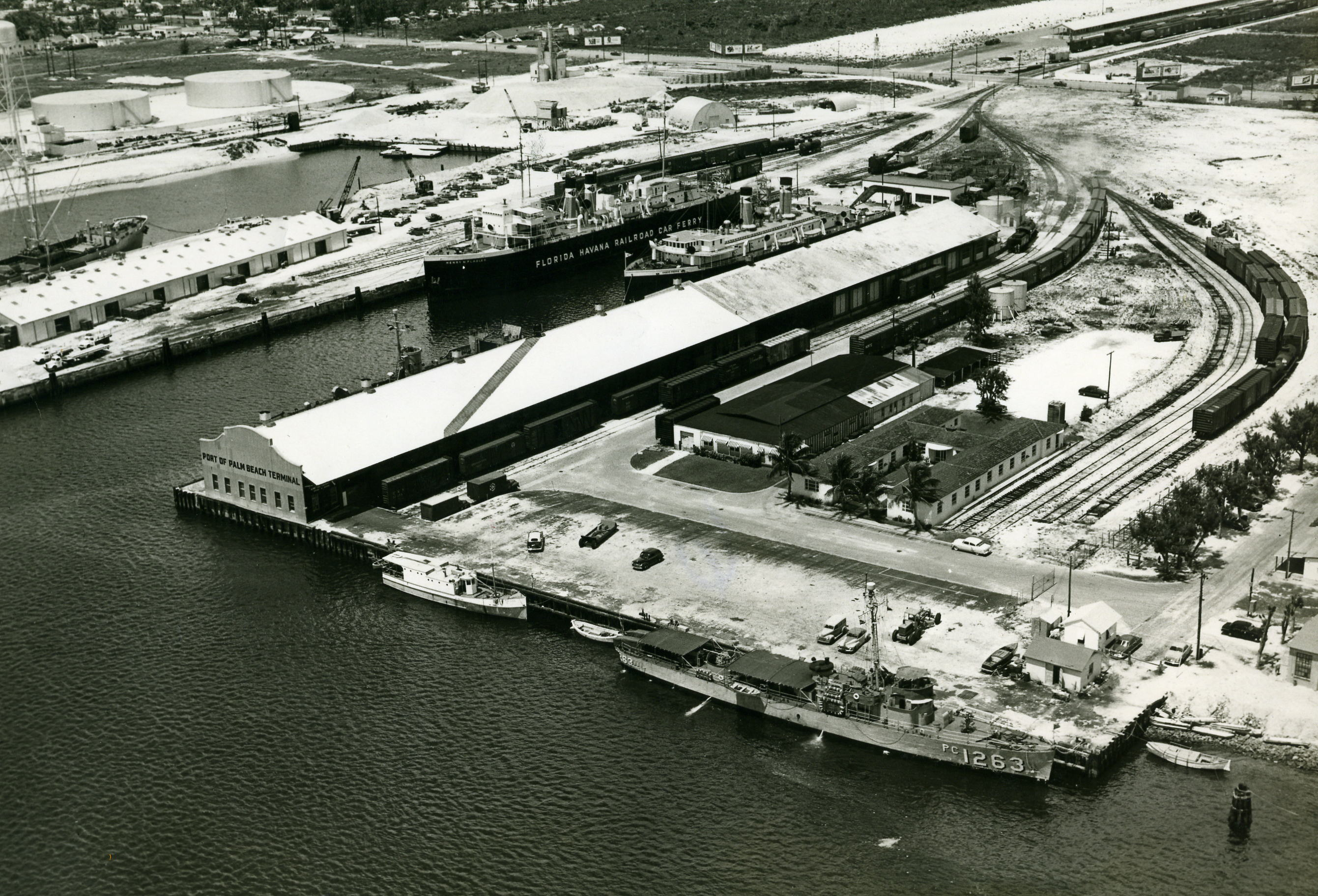 Port of Palm Beach May 30, 1953