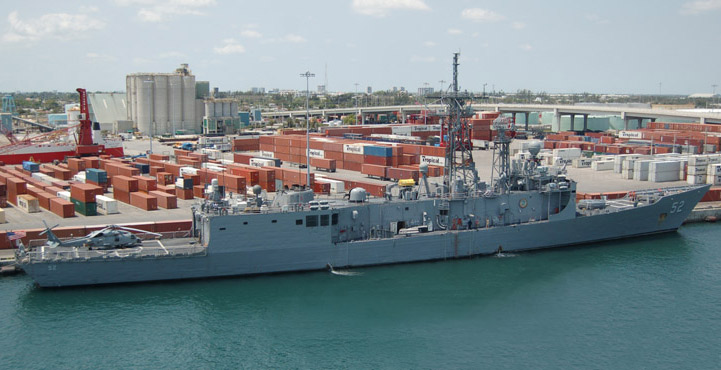 USS Carr (FFG 52) - May 2007