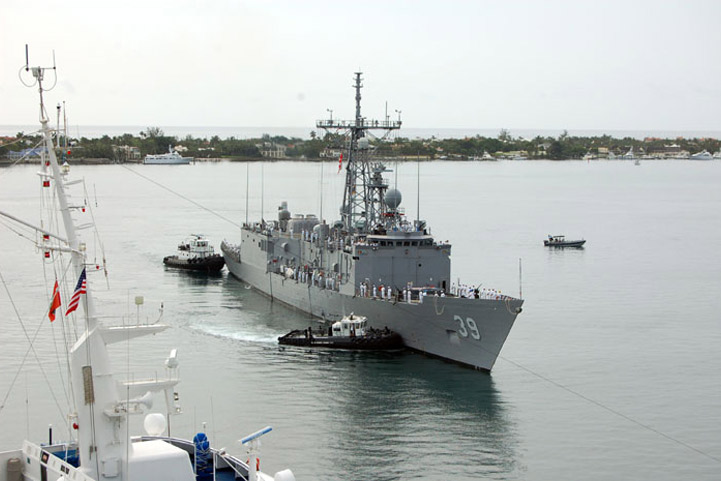 USS Doyle (FFG-39) - July 2008