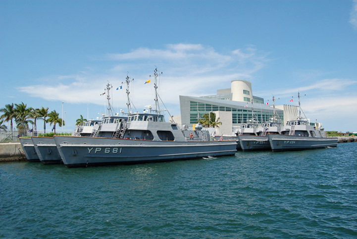 "US Naval Academy ""YP"" Boats - July 2007"